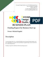 Business Plan Concept Design Studio