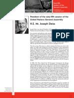 English.bio of PGA Joseph Deiss.ga Press Kit