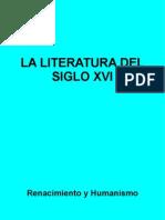 La lírica del siglo XVI. Comentario literario