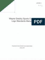 Wayne Gretzky Sports Centre Logos Manual