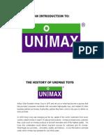 Unimaxtoys Overview 2010