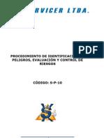 p 10 Identificacion de Peligros Evaluacion y Control de Riesgos