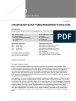 50+20 Stakeholder Survey Feb 2012