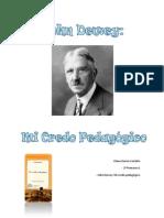 Práctica final, John Dewey