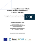 Sustainable competitiveness of SMEs in turbulent economic environments – a network approach