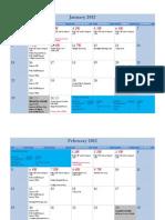 PSC - GBS Financial Management Calendar - 2012 v1 010112