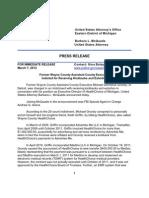 WXYZ - Michael Grundy Press Release