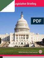 National Assoc. of Postal Supervisors - 2012 Legislative Briefing