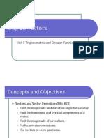 Obj. 23 Vectors (Presentation)