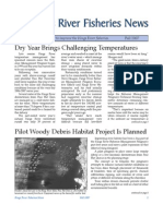 Fall 2007 Fisheries Newsletter, Kings River Conservation District Newsletter