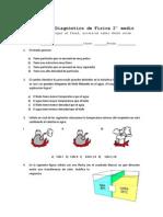 Prueba de Diagnóstico Física 2° medio