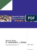 Proyecto de Educación Integral para adolescentes y jovenes