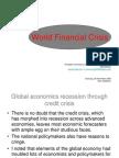 (Ppt)World Economics Crisis