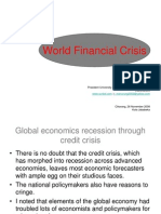 (Ppt)World Economics Crisis