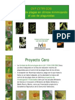 Proyecto Cero-Control Plagas en Citricos