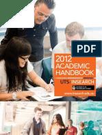 806 Academic Handbook 2012 0112W