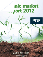 Organic Market Report 2012 - Soil Association (UK)