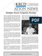 September - October 2005 Kings River Conservation District Newsletter