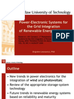 Power-Electronic Systems for the Grid Integration