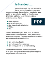 Basic Production Chemicals