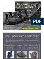 Iron and Ferrous Metals