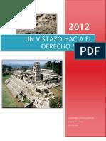 Un Vistazo Hacia El Derecho Maya