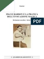 Bardon La Pratica Dell Evocazione Magica