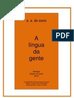 A língua da gente
