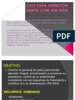 PROTOCOLO PARA ATENCIÓN A PACIENTES CON VIH