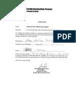 Resolucion 005 PNP Tribunal Honor - Rimarachin out de Gana Peru