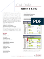Folleto Technical Data Rslogix 5 y 500