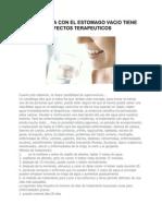 Beneficios Del Agua en Nuestro Cuerpo 2012