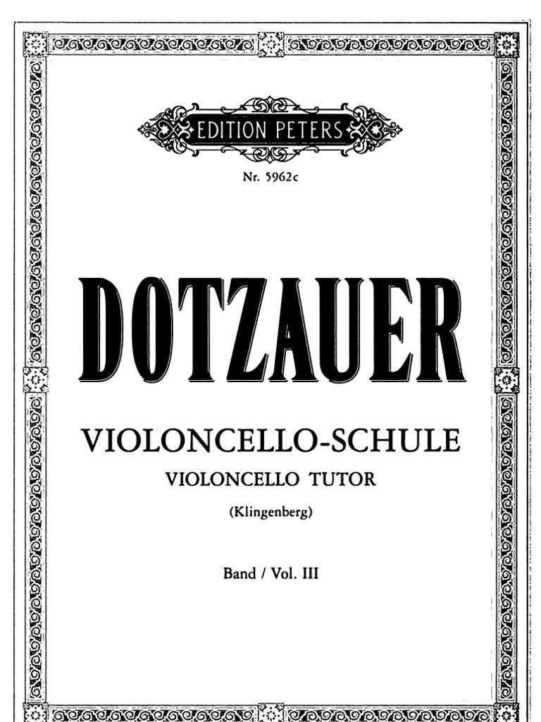 VIOLONCELLO-SCHULE VOL.II