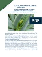 El Aloe Vera en El Tratamiento Natural Anticancerigeno 2012