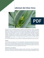 Uso Medicinal Del Aloe Vera 2012