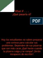 what-if-español