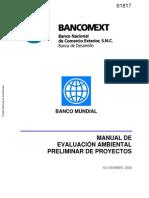 Manual de Evaluacion Ambiental