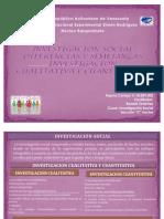 Investigacion Social, Diferencia y Semejanza Inv. Cuantitativa y Cualitativa