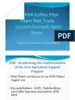 7 Lessons Learned Lao Coffee Pilot Project - CMay