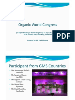 8 Organic World Conference - P Cheattho