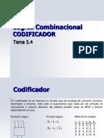 Logica Combinacional CODIFICADOR