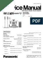46473911 Panasonic SAPT 760 P Service Manual 1
