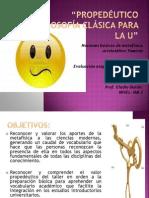PROPEDÉUTICO FILOSOFÍA CLÁSICA 3 medio