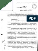 Reglamento y formulario de inscripción Estímulos económicos para estudiantes de formación docente 2012