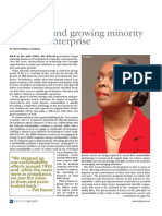 Greening and growing minority business enterprise