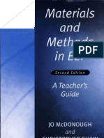 Materials and Methods in ELT a Teacher's Guide
