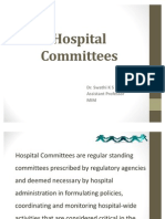 Hospital Committees