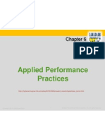 CH 6 Applied Performance Practices