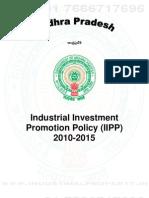 Andhra Pradesh Industrial Policy 2010-2015