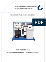HMT  Lab Manual